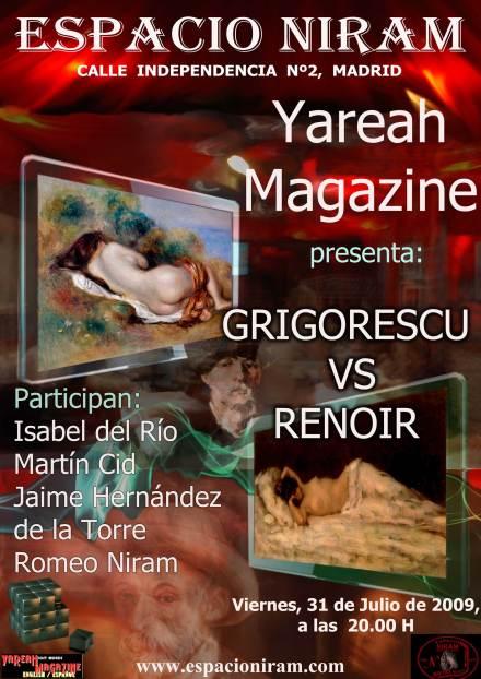 Grigorescu versus Renoir in Espacio Niram, Madrid
