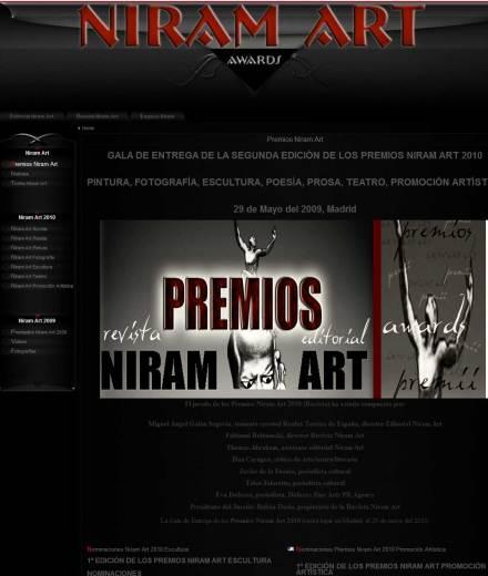 Premiile Niram Art_website