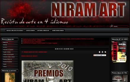 Revista Niram Art -website