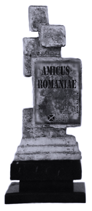Trofeu AMICUS ROMANIAE de Bogdan Ater