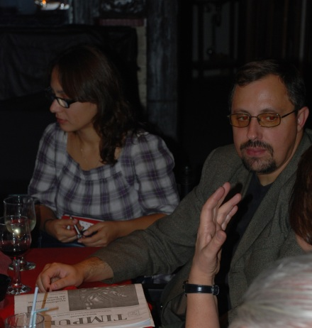 Scriitorul Dan Lungu