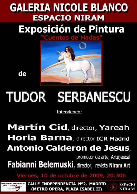 Expo Tudor Serbanescu Espacio Niram