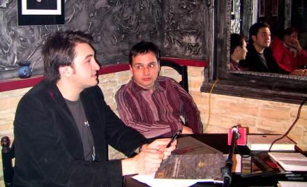 Fabianni Belemuski, dir. revistei Niram Art si Lucian Muntean