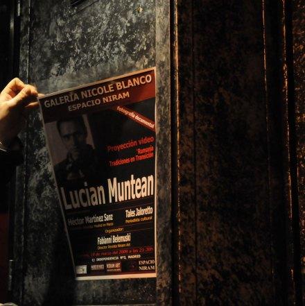 Lucian Muntean in Espacio Niram