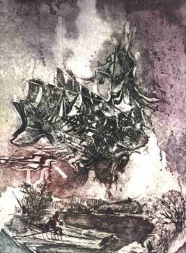 Gravura de Marina Nicolaev