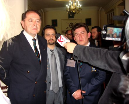 Generalul Reales Tercios Manuel Fuentes Cabrera, Romeo Niram si Col. Miguel Angel Segovia