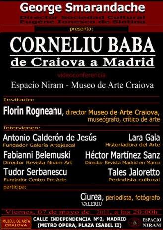 Corneliu Baba de la Craiova la Madrid