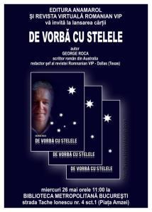 George ROCA,  De vorbă cu stelele (interviuri)