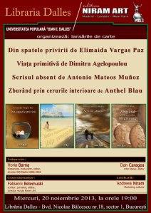 Editura Niram Art la Libraria Dalles
