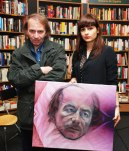 Michel Houellebecq, Andreea Niram (marketing cultural Espacio Niram)