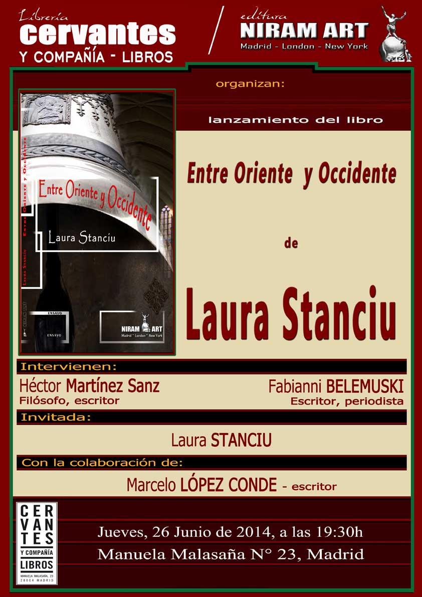 Cartel lanzamiento Laura Stanciu, Niram Art