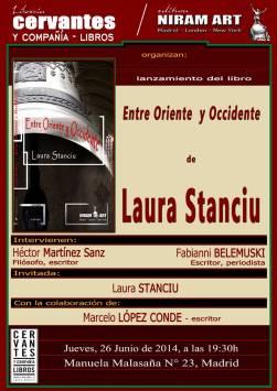 Laura Stanciu, Lansare Madrid