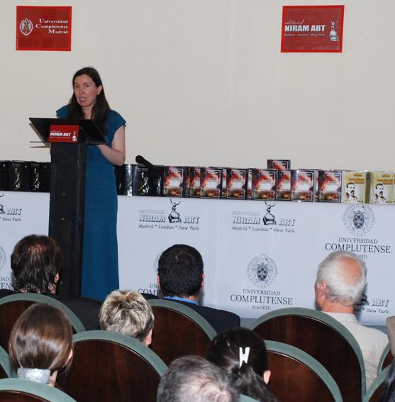profª Nuria Sánchez Madrid, vicedecana Fac. de Filosofía, Univ.Complutense Madrid