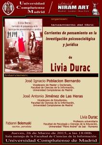 """""""Corrientes de pensamiento en la investigación psicosociológica y jurídica"""" de Livia Durac"""