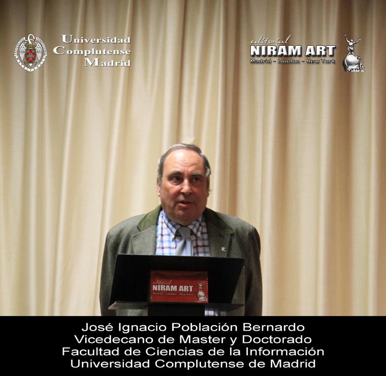 vicedecano José Ignacio Población Bernardo